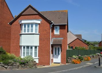 Thumbnail 3 bed detached house for sale in Jubilee Gardens, Sidmouth, Devon