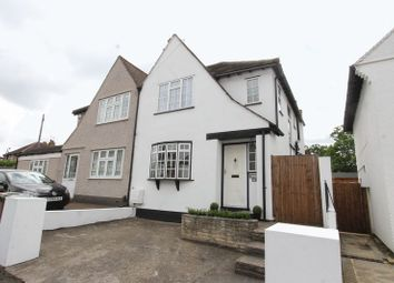 Thumbnail 3 bed semi-detached house for sale in Lumley Road, Cheam, Sutton