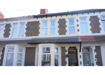 Thumbnail 4 bed terraced house for sale in Brithdir Street, Cardiff