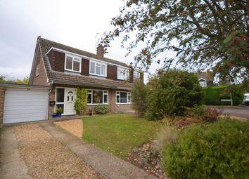 Thumbnail 3 bed semi-detached house for sale in Riverdale, Wrecclesham, Farnham, Surrey
