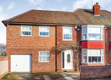 Thumbnail 5 bed semi-detached house for sale in Greenfield Lane, Doncaster