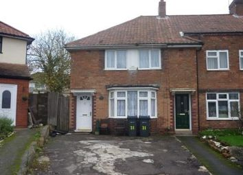 Thumbnail 2 bed end terrace house for sale in Newstead Road, Birmingham, West Midlands