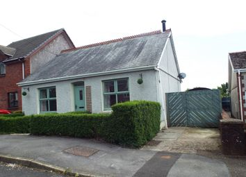 Thumbnail 3 bed detached bungalow for sale in Singleton Road, Upper Tumble, Llanelli