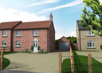 Thumbnail 3 bed semi-detached house for sale in Oxborough Road, Stoke Ferry, King's Lynn