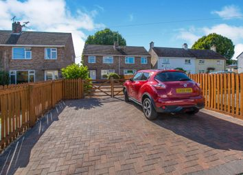 Thumbnail 3 bed semi-detached house for sale in Caestory Crescent, Raglan, Usk