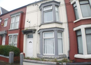 Thumbnail 6 bed shared accommodation to rent in Sheil Road, Liverpool