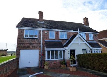 Thumbnail 4 bed semi-detached house for sale in Pentland Close, Ashington