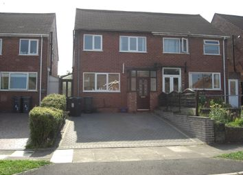 Thumbnail 3 bed semi-detached house to rent in Cramlington Road, Great Barr