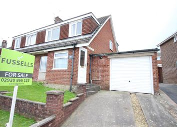 Thumbnail 3 bed semi-detached house for sale in Ogmore Court, Caerphilly