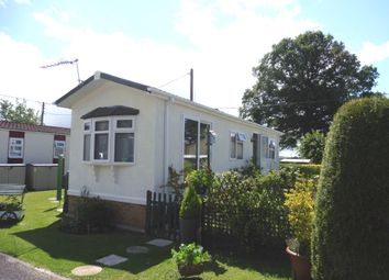 Thumbnail 1 bed mobile/park home for sale in Hillview Park Home Estate, Oare, Marlborough