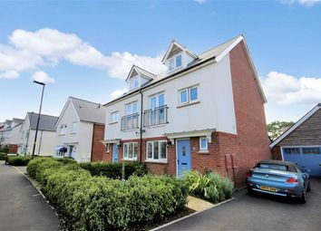 Thumbnail 4 bed semi-detached house for sale in Homington Avenue, Badbury Park, Coate, Swindon