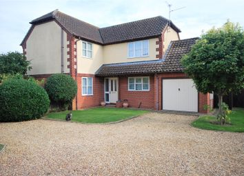 Thumbnail 4 bed detached house for sale in Wedgewood Drive, Spalding