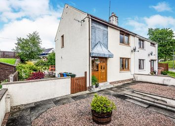 Thumbnail 2 bed semi-detached house for sale in Highfield Circle, Muir Of Ord, Ross-Shire