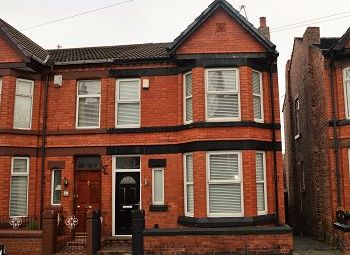 Thumbnail 3 bed semi-detached house to rent in Normanston Road, Oxton, Wirral