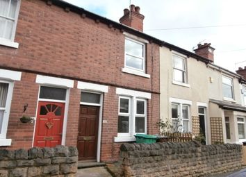 Thumbnail 2 bedroom terraced house to rent in Haddon Street, Sherwood, Nottingham