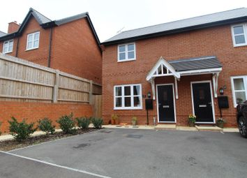 Thumbnail 2 bed semi-detached house for sale in Rogers Way, Buckingham