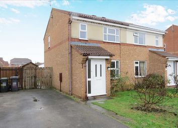 Thumbnail 3 bed semi-detached house for sale in Cygnet Close, Sleaford