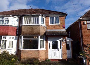 Thumbnail 3 bedroom semi-detached house for sale in Upper Meadow Road, Quinton, Birmingham, West Midlands