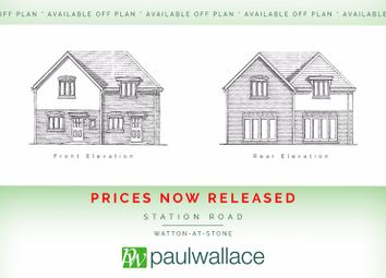 Thumbnail 2 bed semi-detached house for sale in Plot 2, Glebe Close, Watton-At-Stone