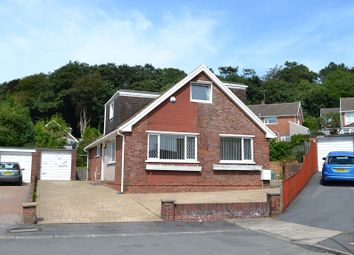 Thumbnail 4 bed bungalow for sale in Hendrefoilan Close, Sketty, Swansea