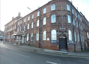 Thumbnail Leisure/hospitality for sale in The Chesterfield Hotel, Malkin Street, Chesterfield, Derbyshire