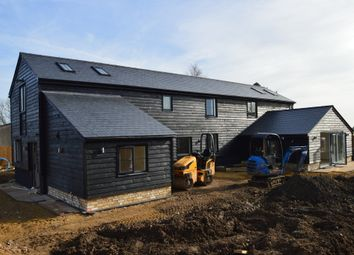 Thumbnail 4 bed barn conversion for sale in Long Dolver Drove, Soham, Ely