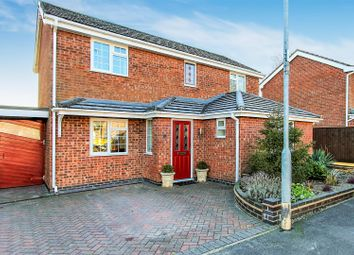 Thumbnail 4 bed detached house for sale in Locksley Close, Ashby-De-La-Zouch