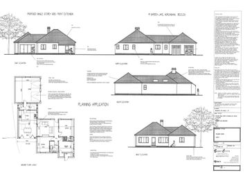 Thumbnail 3 bedroom detached bungalow for sale in Garden Lane, Worlingham, Beccles