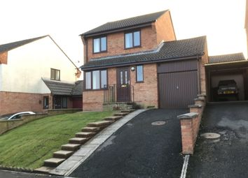 Thumbnail 3 bed detached house to rent in Pidgley Road, Dawlish