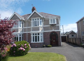 Thumbnail 3 bed semi-detached house for sale in Clevis Crescent, Porthcawl