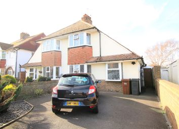 Thumbnail 2 bed semi-detached house for sale in Kinfauns Avenue, Eastbourne