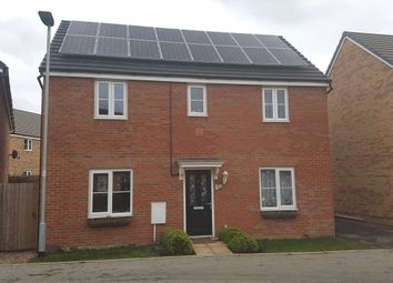 Thumbnail Detached house for sale in Hillary Close, Peterborough