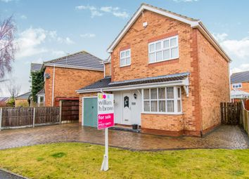 Thumbnail 4 bed detached house for sale in Calder Road, Lincoln