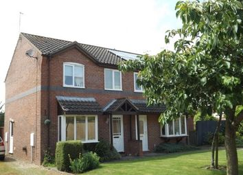 Thumbnail 3 bedroom semi-detached house for sale in College Close, Horncastle, Lincolnshire