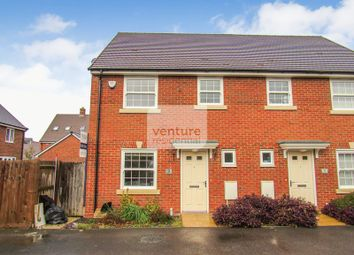 Thumbnail 3 bed semi-detached house for sale in Ladybird Way, Wixams, Bedford