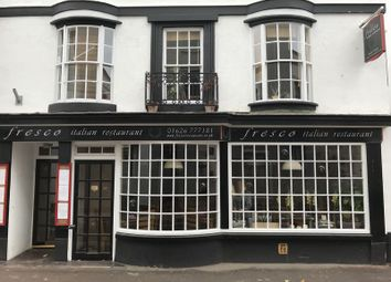 Thumbnail Restaurant/cafe for sale in Northumberland Place, Teignmouth