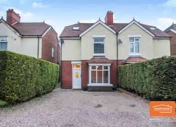 Thumbnail 3 bed semi-detached house for sale in Watling Street, Brownhills, Walsall