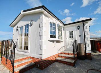 Thumbnail 1 bed mobile/park home for sale in Swanbridge Park Homes, Dorchester