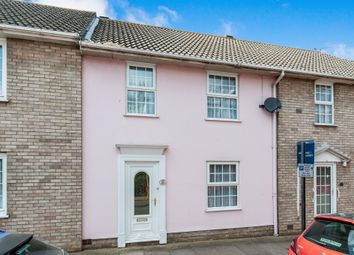 Thumbnail 3 bed terraced house for sale in Long Brackland, Bury St. Edmunds