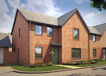 "Thumbnail 4 bed detached house for sale in ""Radleigh"" at Langaton Lane, Pinhoe, Exeter"