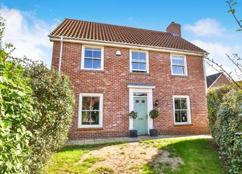 Thumbnail 4 bed detached house for sale in Vanguard Chase, Norwich