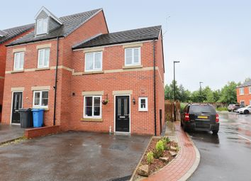 Thumbnail 3 bed semi-detached house for sale in Locke Drive, Sheffield