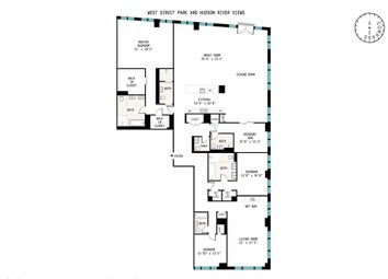 Thumbnail 5 bed property for sale in 400 West 12th Street, New York, New York State, United States Of America