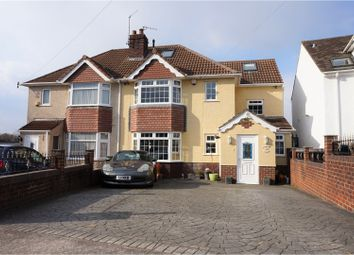 Thumbnail 5 bed semi-detached house for sale in Durleigh Close, Headley Park