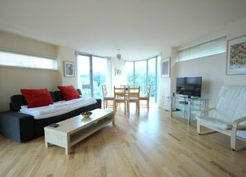 Thumbnail 3 bedroom flat to rent in Star Wharf, St Pancras Way, Camden Town
