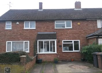 Thumbnail 3 bed terraced house to rent in West Way, Luton
