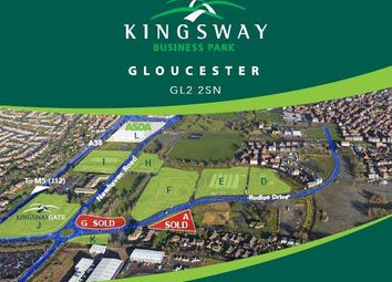 Thumbnail Commercial property to let in Commercial Development Land, Kingsway Business Park, Gloucester