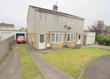 Thumbnail 3 bed semi-detached house for sale in Georgian Way, Brackla, Bridgend.