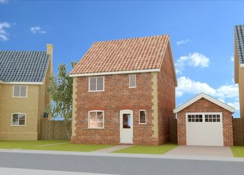 Thumbnail 3 bed detached house for sale in Lopham Road, East Harling, Norwich