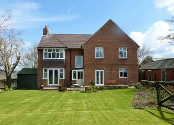 Thumbnail 5 bed detached house for sale in Medomsley Edge, Consett